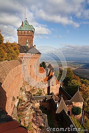 Free Castle Of Haut-Koenigsbourg, Alsace, France Stock Photo - 11896320