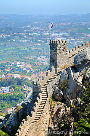 Free Castle Of The Moors Royalty Free Stock Photo - 9652345