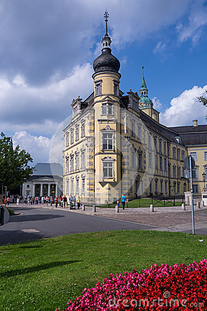 Castle in oldenburg