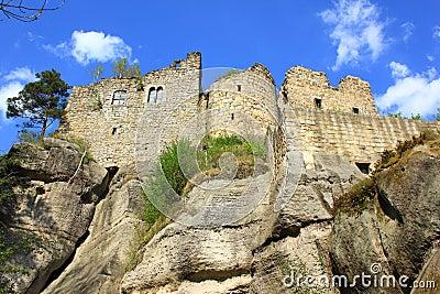 Castle in Oybin