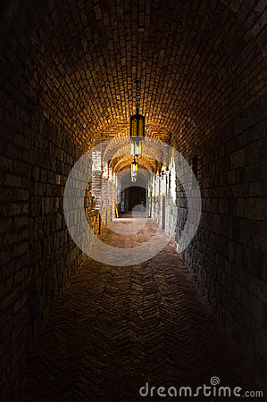 Free Castle Passageway Royalty Free Stock Photo - 30401915