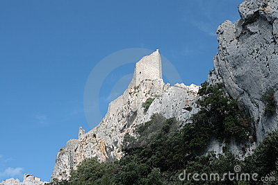 Castle of Peyrepertuse, France