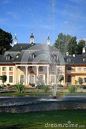 Castle in Pillnitz