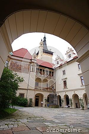 The castle Pruhonice
