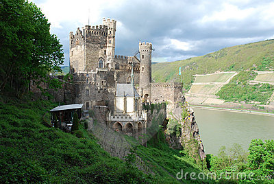 Castle Rheinstein, Rhine Valley, Germa