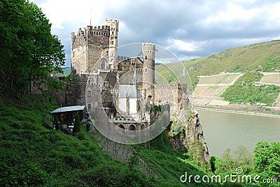 Medieval Castle Rheinstein, Upper Middle Rhine Valley, Germany