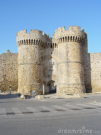 Castle of Rhodos