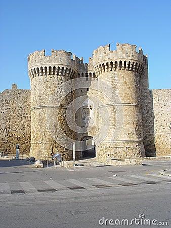 Castle of Rhodos