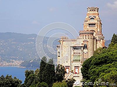 Castle in Riviera