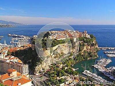 Castle on the rock