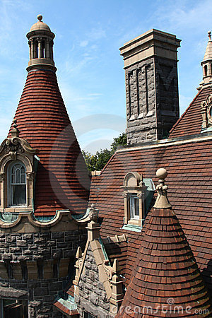 Castle roof top
