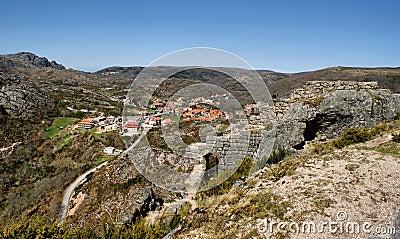 Castle ruins of Castro Laboreiro