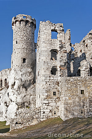 Free Castle Ruins In Ogrodzieniec, Poland Stock Images - 22105174