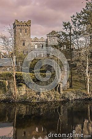 Free Castle Ruins. Macroom. Ireland Stock Images - 80950994