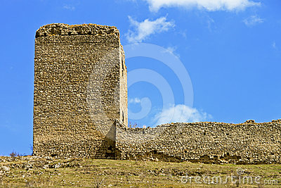Castle ruins of Torockoszentgyorgy, Romania