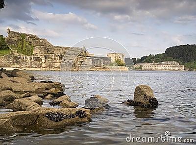 Castle of San Felipe and La Palma in Ferrol
