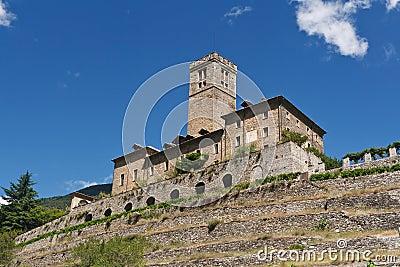 Castle in Sarre, Italy