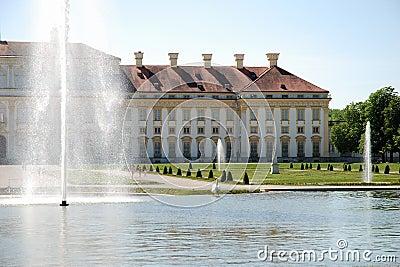 Castle Schleißheim-gardenside