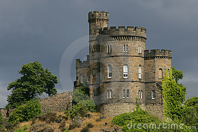 Castle in Scotland