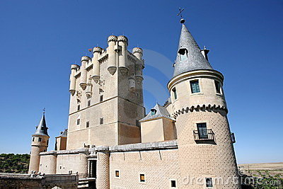 Castle at Segovia