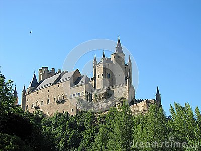 Castle in Segovia