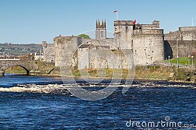 Castle at Shannon river
