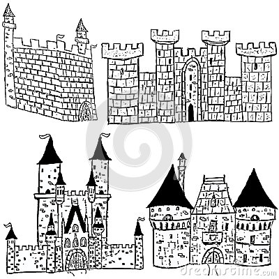 Castle sketches