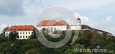 Castle Spilberk in Brno
