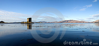 Castle Stalker, Argyll, Scotland, High Resolution