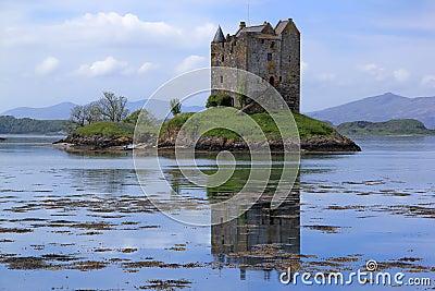 Castle stalker loch linnhe landscape scotland