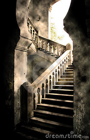Free Castle Steps Stock Image - 563691