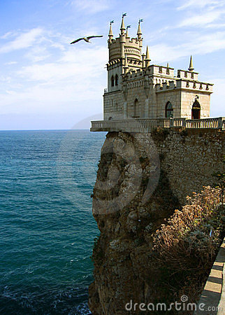 Free Castle Swallow S Nest, Crimea Royalty Free Stock Photos - 11765658