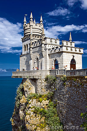 Free Castle Swallow S Nest Near Yalta In Crimea Stock Images - 17178174