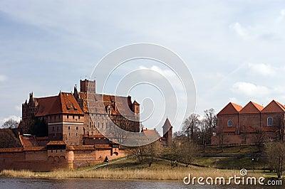 castle of the Teutonic Knights Malbork - Poland