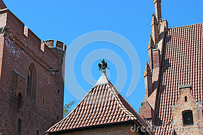 The Castle of the Teutonic Order in Malbork. Poland