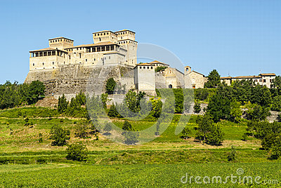 Castle of Torrechiara (Parma)