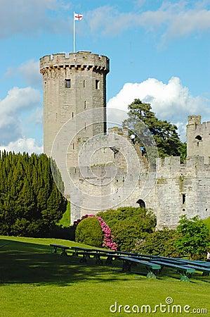 Castle tower, Warwick