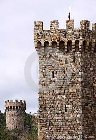 Castle Towers Stock Photos Image 8865963