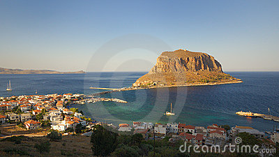 The castle-town of Monemvasia