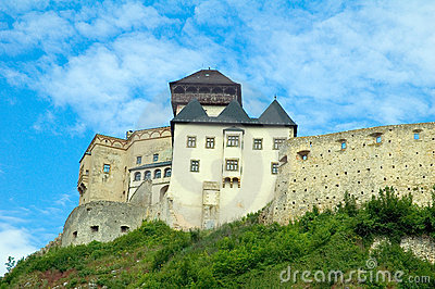 Castle in trencin