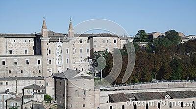 Castle of urbino