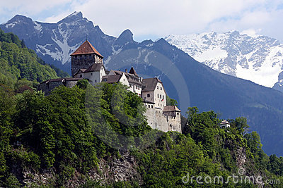 Castle in Vaduz