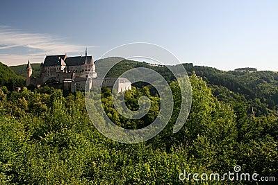 Castle in Vianden, Luxembourg