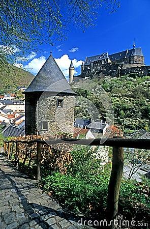 Castle Vianden, Luxembourg