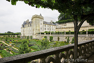 Castle of Villandry, Loire Valley