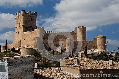 Castle of Villena, Alicante, Spain