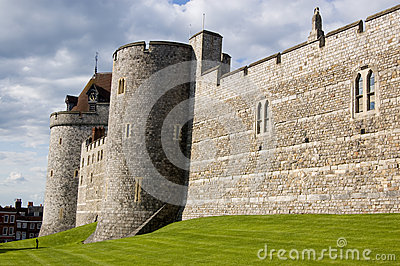 Castle Walls, Windsor, Berkshire