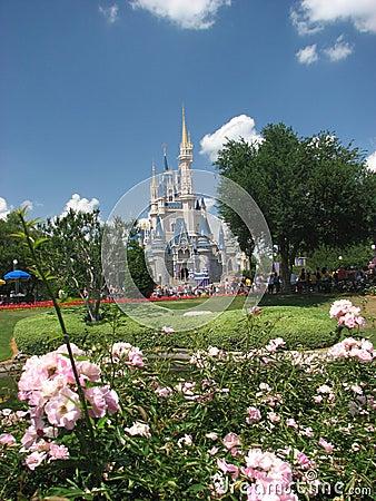 Castle in Walt Disney Editorial Stock Photo