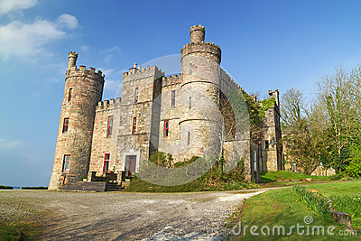 Castle on the west coast of Ireland