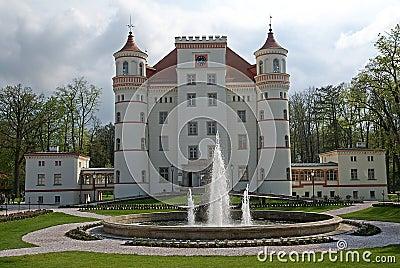 Castle Wojanow, Poland